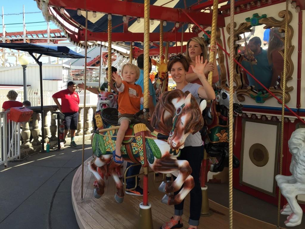 Belmont Park Carousel