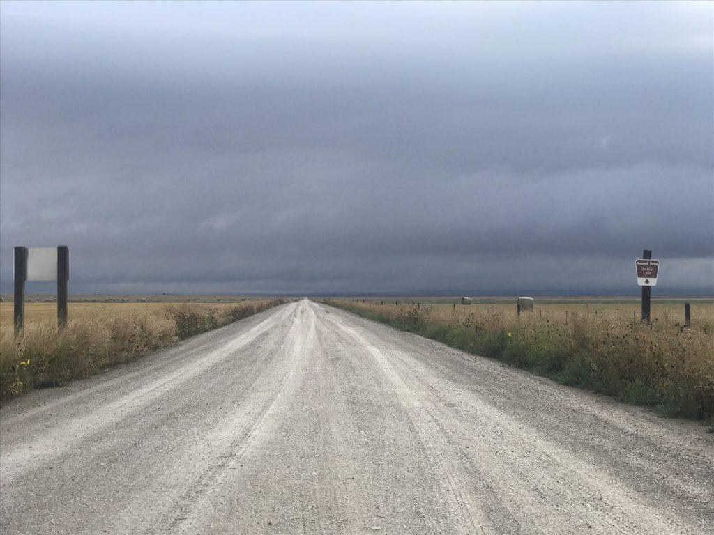 Dirt Road Rural Montana