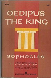 I am a case study copywriter, I read Oedipus