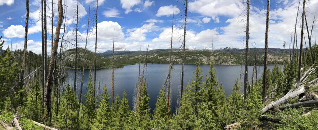 Custer Gallatin National Forest Kersey Lake Montana