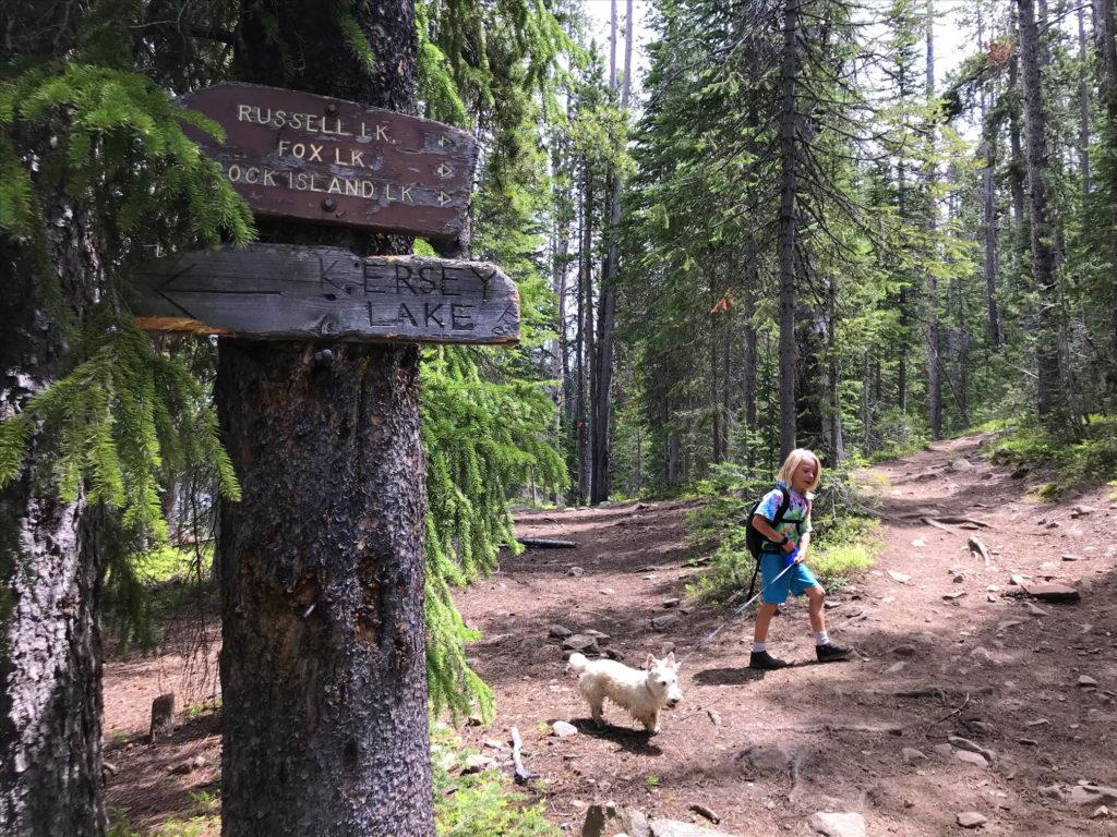 Hiking to Kersey Lake in Montana Scott Sery