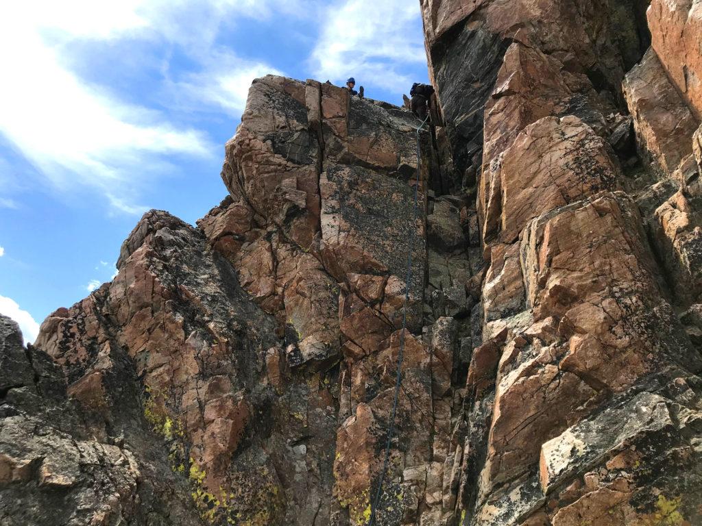 rapelling off granite peak is faster scott sery copywriter