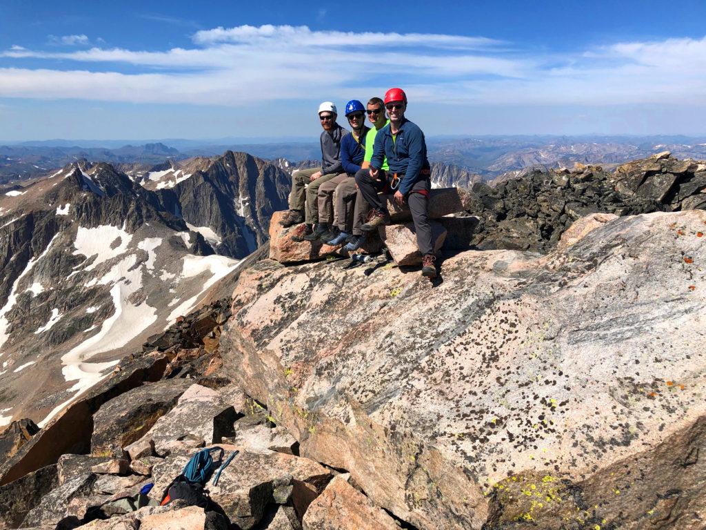 Summit Photo granite peak scott sery Billings