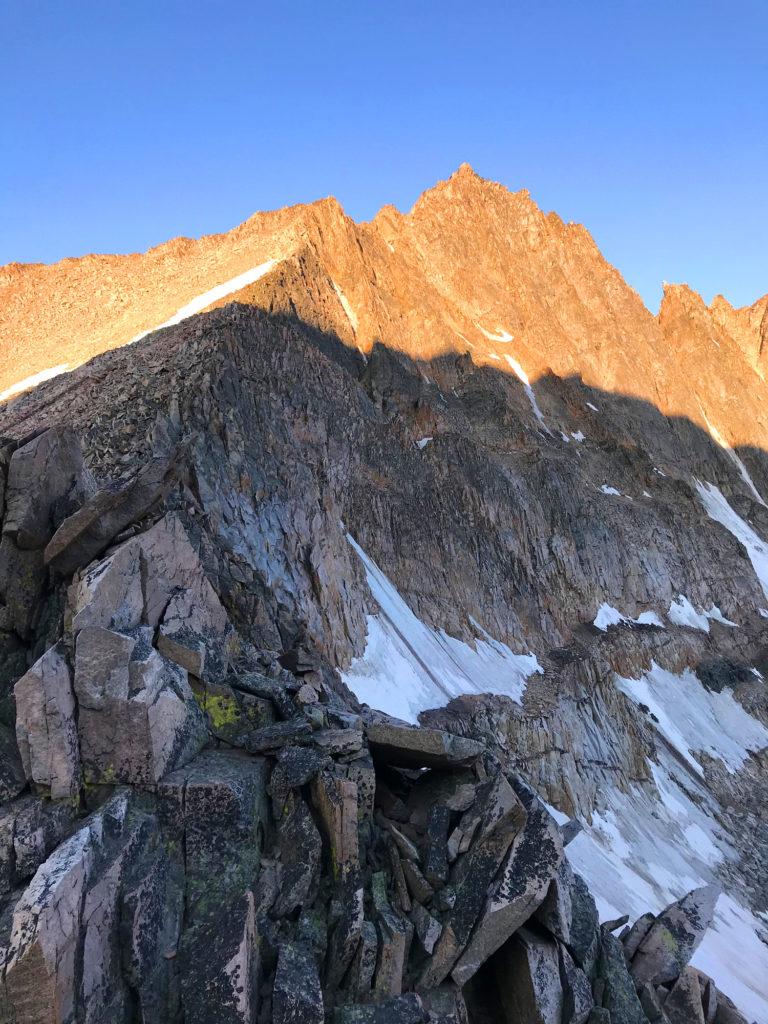 granite peak sunrise montana's highest point