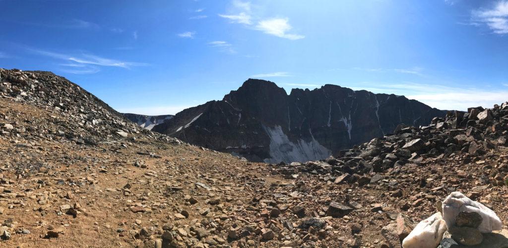 Granite peak from Tempest saddle scott sery copywriter