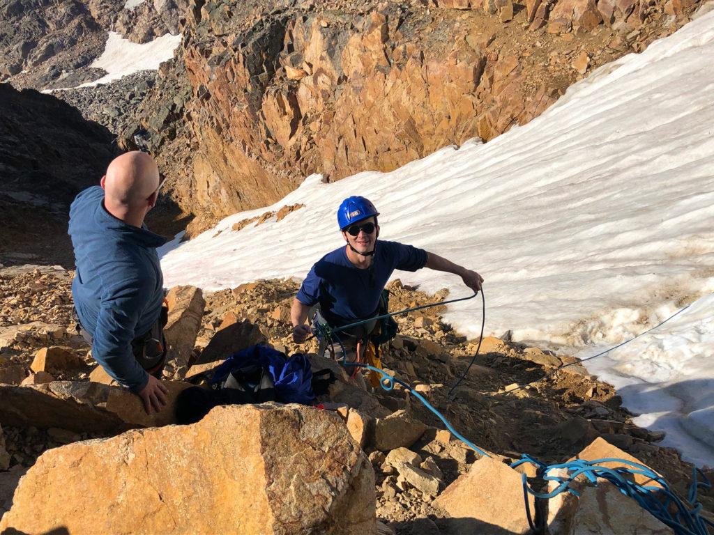 snow bridge granite peak mountaineering adventure writer scott sery