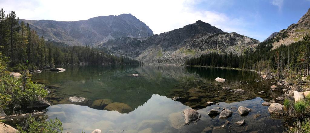 Princess Lake Montana after climbing granite peak scott sery copywriter