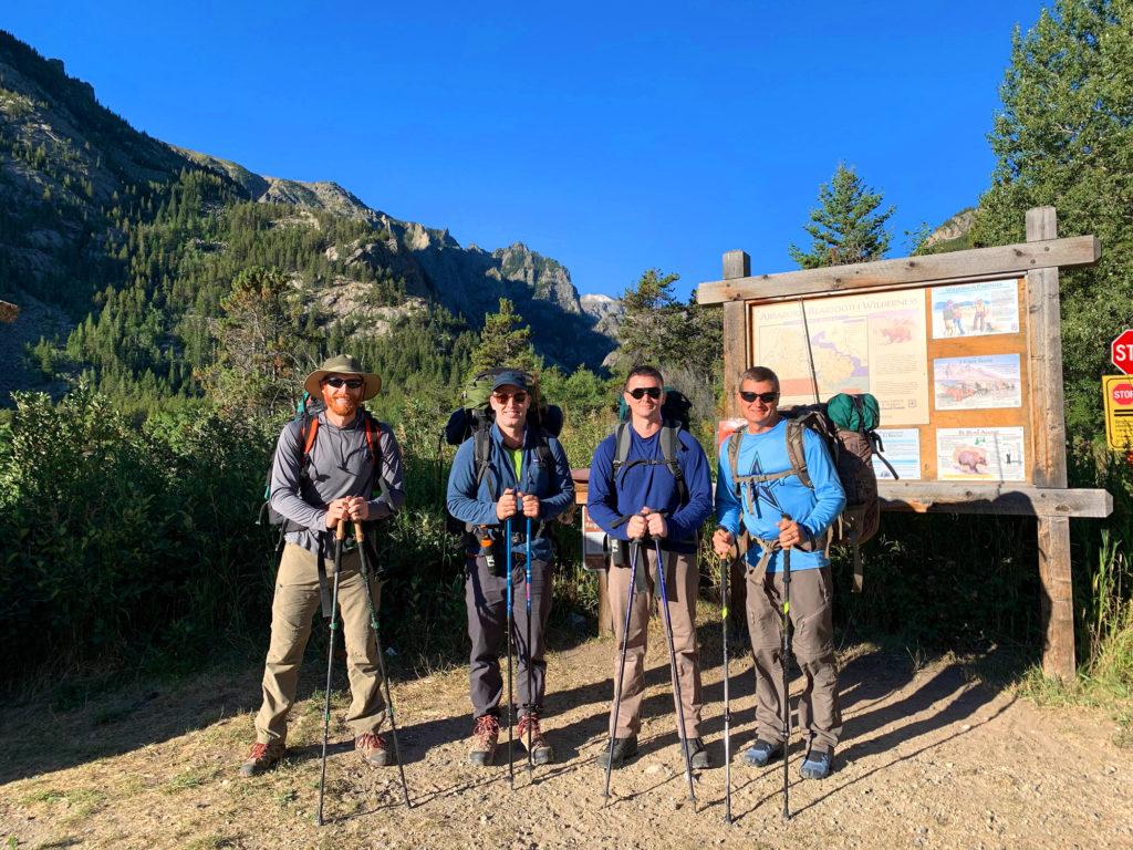 Mystic Lake Trailhead scott sery adventure writer