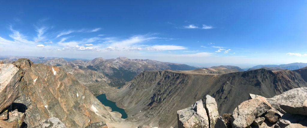top of Granite Peak Montana